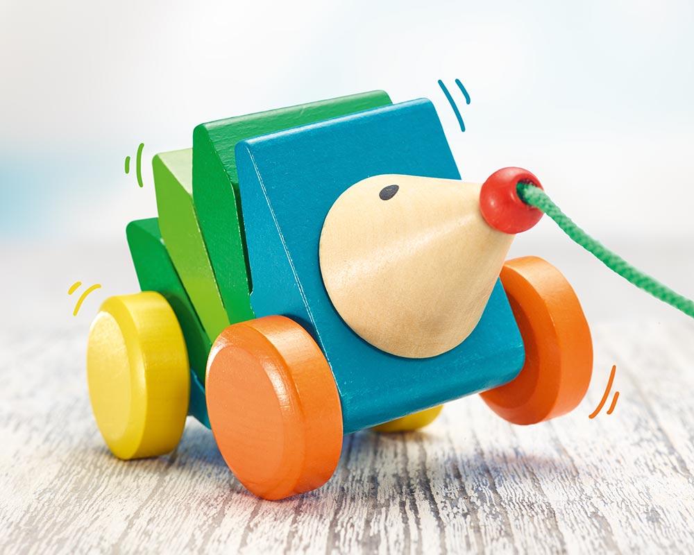Kasper Klic Klac à tirer - Selecta Spielzeug