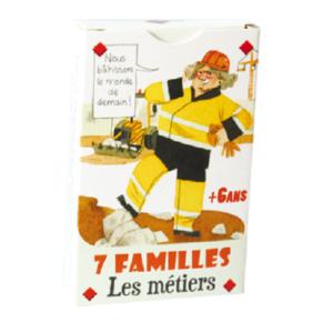Jeu de 7 familles – Les métiers
