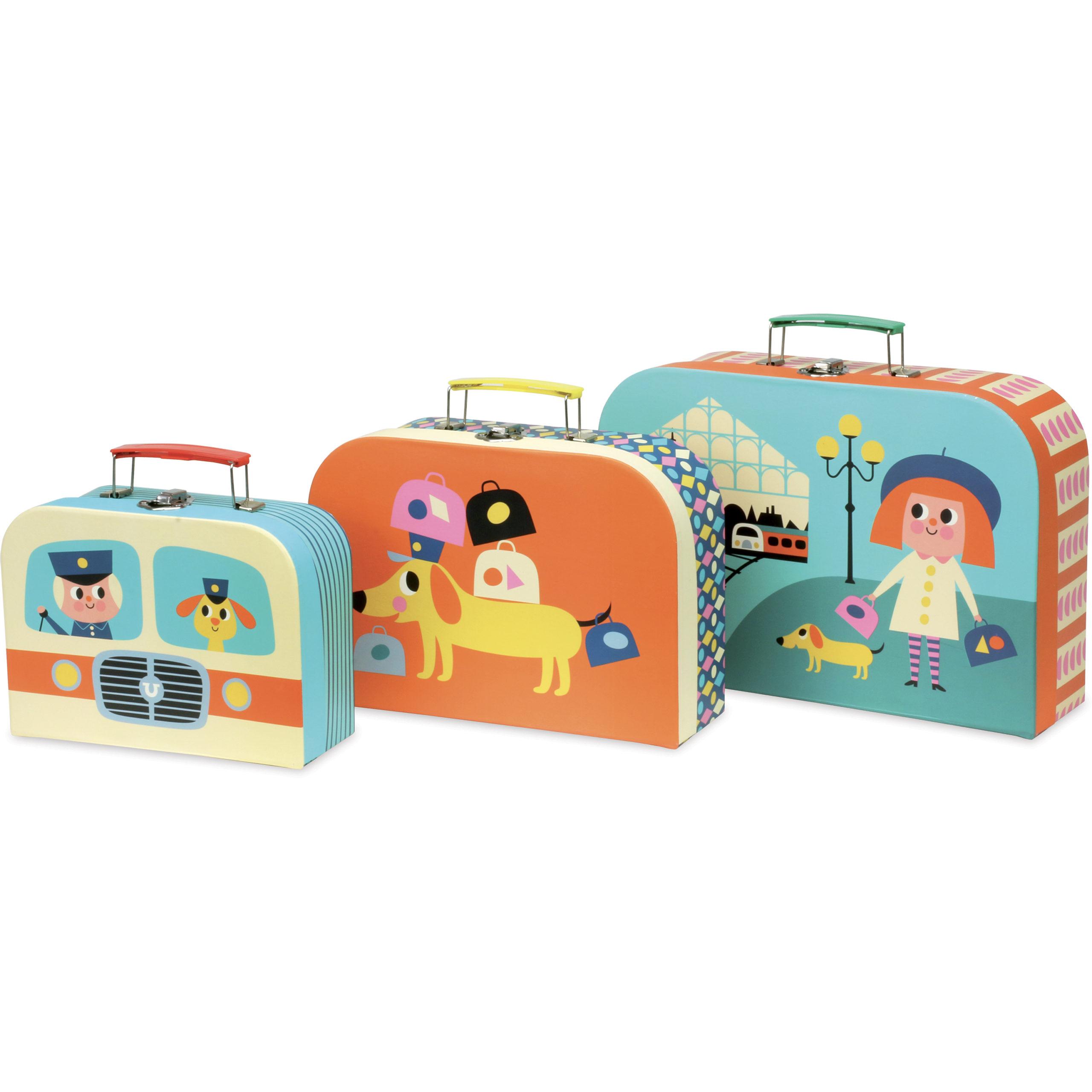 Set de 3 valises gigognes – Ingela P.Arrhenius