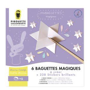 Kit créatif – Mes baguettes magiques