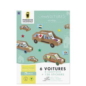 Kit créatif – Mes voitures