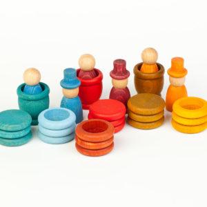 Nains, anneaux, plateaux – Eté  – jeu Grapat