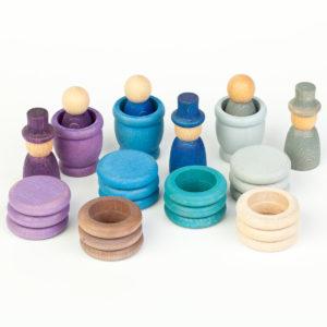 Nains, anneaux, plateaux – Hiver – jeu Grapat