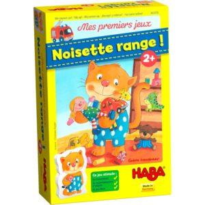 Noisette range! Mes premiers jeux Haba