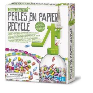 Kit création de perles en papier recyclés – 4M