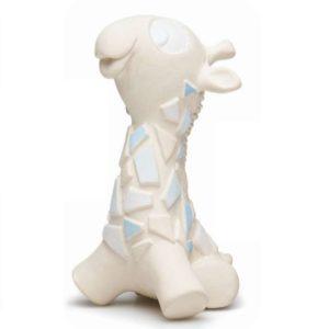 Girafe bleue en caoutchouc naturel – Lanco