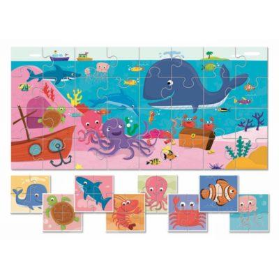 Baby puzzle de la mer