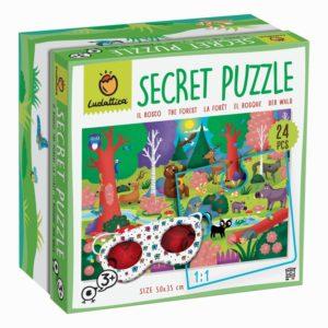 Secret Puzzle – La forêt – Ludattica