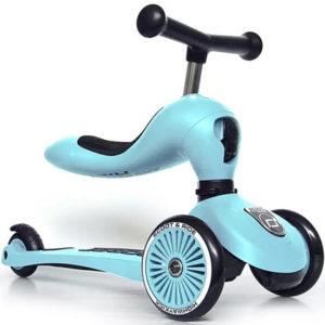 Trottinette 2 en 1 – Bleu ciel – Scoot and Ride