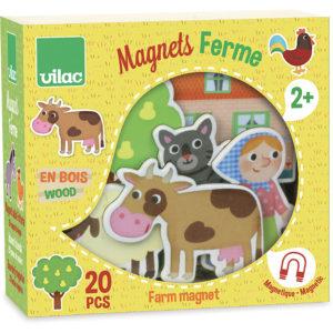 Magnets de la ferme – Vilac