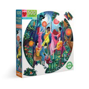 La danse de la Lune, puzzle rond 500 pièces