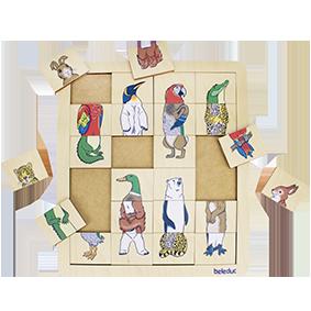 """Puzzle Match & Mix """"le royaume des animaux"""""""