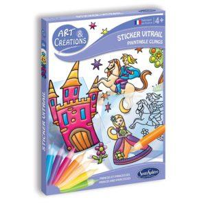 Stickers Vitrail – Petits Princes