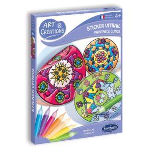 Stickers Vitrail – Mandalas