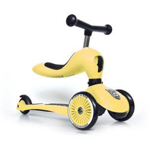 Trottinette 2 en 1 – Citron – Scoot and Ride