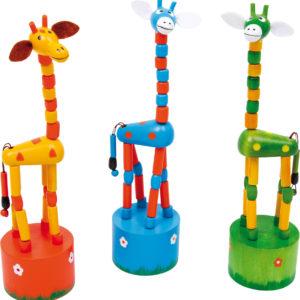 Poussoir girafe – Smallfoot