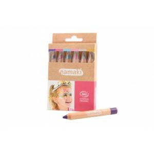 Kit de 6 crayons de maquillage Mondes enchantés