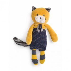 Doudou petit chat Lulu Les Moustaches