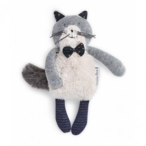 Doudou Petit chat Fernand Les Moustaches