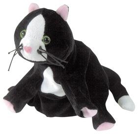 Marionnette de main Chat noir
