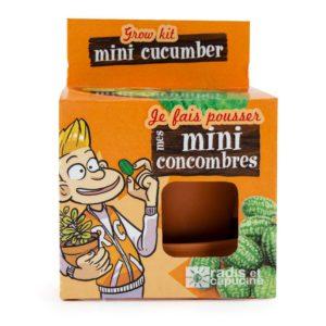 Graines de mini-concombre à faire pousser – Pot 8 cm